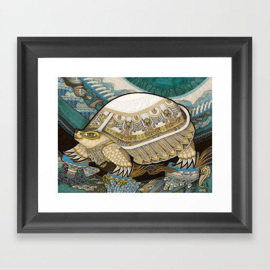 Turtle Framed Art Print