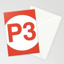 P3-ORANGE Stationery Cards