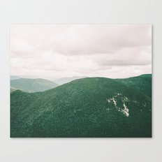 i'll see mountains again Canvas Print
