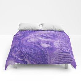 Ganesha violet Comforters