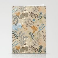 floral pattern Stationery Cards featuring Floral pattern by De Assuncao création