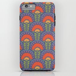 Bright Floral Arches iPhone Case