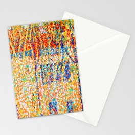 Kazimir Malevich Landscape with Red House Stationery Cards