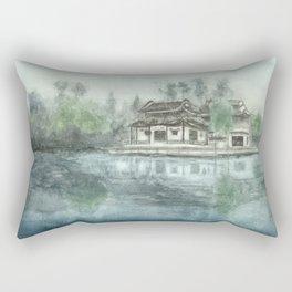 Ancient China Rectangular Pillow