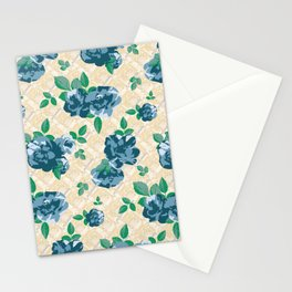 Ditsy Floral (Blue) Stationery Cards