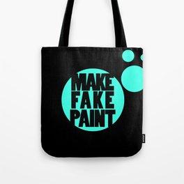Fake Paint Tote Bag