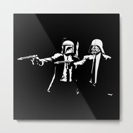 Pulp Fiction parody Metal Print