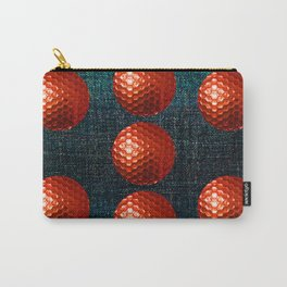 RED GOLF BALLS Carry-All Pouch
