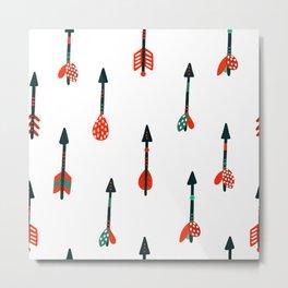 boho arrows Metal Print