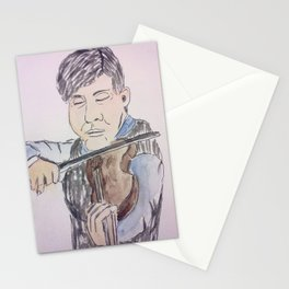 Violinist Stationery Cards