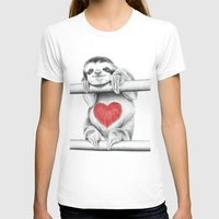 sloths T-shirts featuring If Care Bears were sloths... by 13 Styx