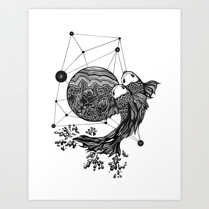 Picies Art Print