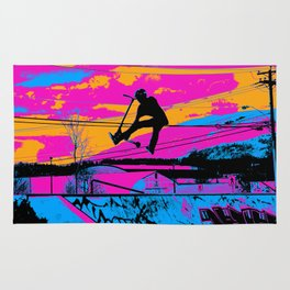 Lets Fly!  - Stunt Scooter Rug