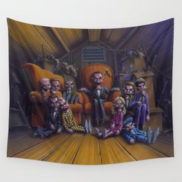 Night of the Living Dummy III Wall Tapestry