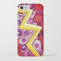 lightning iPhone & iPod Cases featuring Lightning by DuckyB
