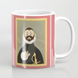Nobleman with his Hand on his Chest by Greco Coffee Mug