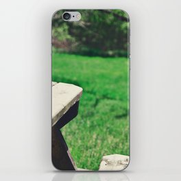 Picnic Table iPhone Skin