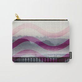 Waves and Pier Carry-All Pouch