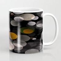 dots Mugs featuring Dots by Fine2art