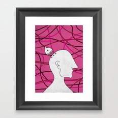 plug in Framed Art Print