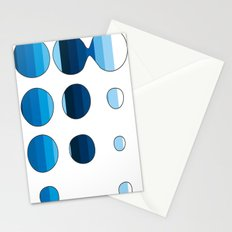 Spots and Stripes Stationery Cards