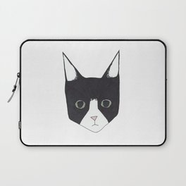 Henry the Tuxedo Cat Laptop Sleeve