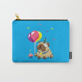 It's Puggin' Party Time! Carry-All Pouch