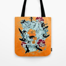 Waves Tote Bag