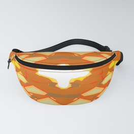 Abstract Yellow Tiles Fanny Pack