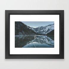 Lapras Lake Framed Art Print