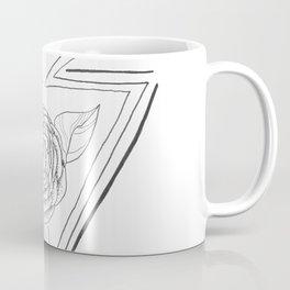 Rose and Arrow Design Coffee Mug