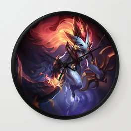 Shadowfire Kindred League Of Legends Wall Clock
