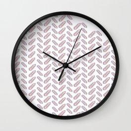 Quartz Fishbone Wall Clock