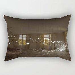 Serenity interrupted Rectangular Pillow
