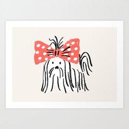 fifi - puppy Art Print