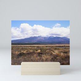 Mount Ruapehu Mini Art Print