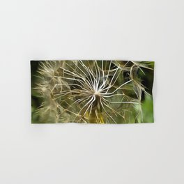 Tragopogon Wildflower Salsify Hand & Bath Towel