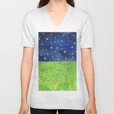 Grass & Stars Unisex V-Neck