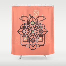 Vapor Shower Curtain