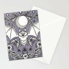 A Bat's Favorite Things Stationery Cards