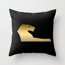 Ancient Egyptian lion – goddess Sekhmet Throw Pillow