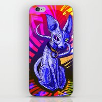 sphynx iPhone & iPod Skins featuring Sphynx!  by Devyn Park