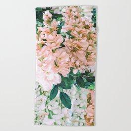 1992 Floral Beach Towel