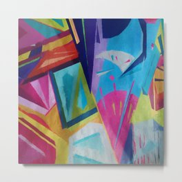Abstract Composition 609 Metal Print