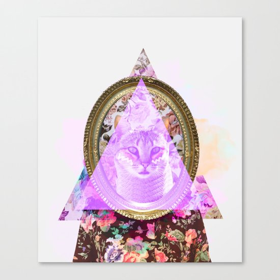 Mirror mirror on the wall who's the fairest of them all Canvas Print