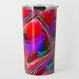 Re-Created  Glass Ceiling III by Robert S. Lee Travel Mug