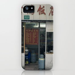 Food stall iPhone Case