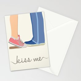 Kiss me Stationery Cards