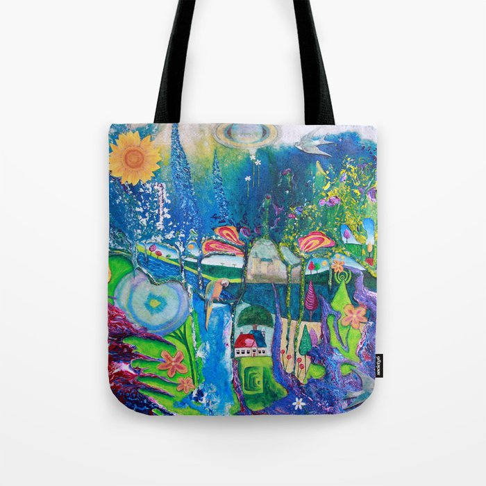 Traveling Into Infinity Tote Bag