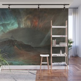 Aurora Borealis by Frederic Edwin Church Wall Mural